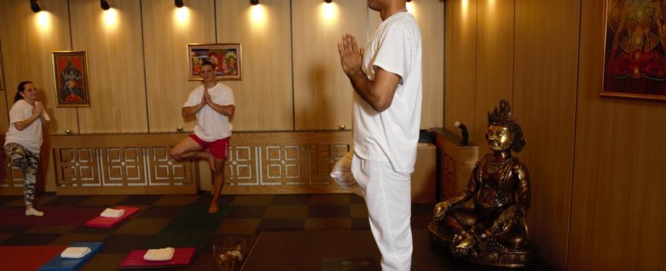 Край на йога курс